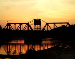 Pearl River Train Bridge by hansepe