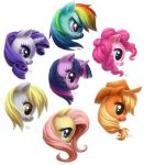 MLP sticker set by NatSmall