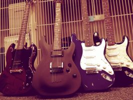 Guitars by gorlava