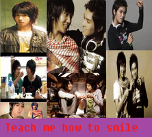 Teach Me How To Smile Yewook Fanfic cover by sharkgirl98