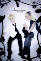 Len and Rin Camellia Version -04 by DamianNada