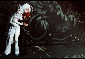 last unicorn and red bull 5 by Kaalii