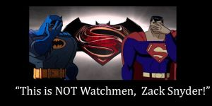 Batman V Superman Trailer Raction by TroytheDinosaur