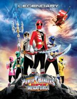 Power Rangers Super Megaforce poster by AirSharkSquad