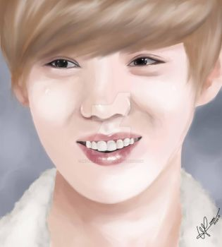 [DIGITAL PAINTING] LuHan 1 by Mister-Raindrop