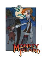 Monkey Island II by o0Straw-Berry0o
