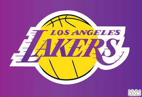 LA Lakers logo by LazyN
