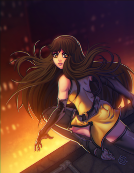 Silk-spectre by redeve