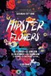 Hipster Flowers Flyer by styleWish