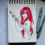 Instaart - Erza Scarlet by Candra