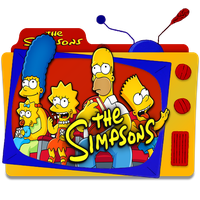 The Simpsons Folder Icon by mikromike