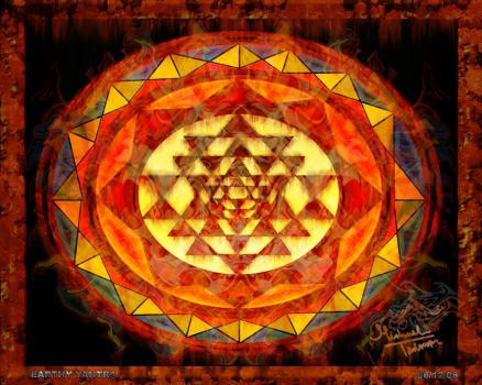 Earth Yantra by SoulConsciousness