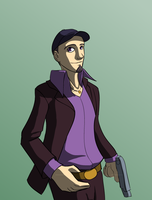 Quick Junpei Colors by micahdraws