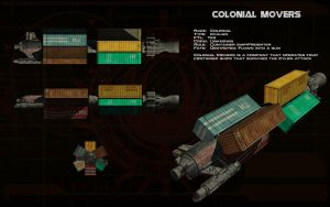 Colonial Movers container ship ortho by unusualsuspex
