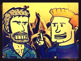 'Saturday Morning Danger 5' #1 by SilentHamish