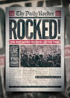 Grunge Newspaper Poster Template Vol. 2 by IndieGround