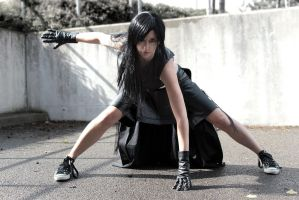 Tifa Lockhart: Fight by LittleBlondeGoth