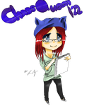 Chaosqueen122 Sprite by ladyziggy