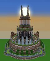 Minecraft Build 3 - Ornamented Tower by Oeasis