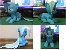 papercraft Trixie Lulamoon by robicraft