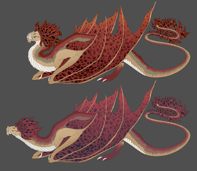 Euca Dragon Set by DelusionalPuffball