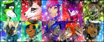 Winter Icon Comm - Batch 3 by Majime