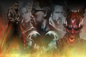 Blade Trinity Wallpaper by Superfreak330