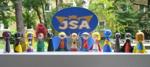 Cones: JSA by Poison-Harley