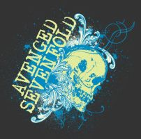Avenged Sevenfold Skull by gomedia
