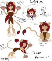 Adventure Time OC: Lyra, the Lion Princess by Lady--Nyx