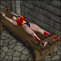 Remastered: Wonder Woman on the Rack by LordSnot
