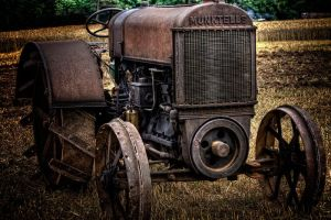 Old tractor by CharmingPhotography