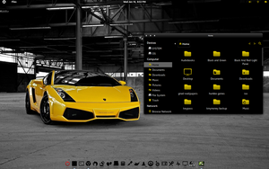 Yellow and Black  Attack Ferrari by CraazyT