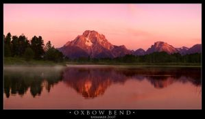 Oxbow Bend Sunrise by Raymaker