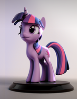 Twilight Sparkle figurine by 3Dapple
