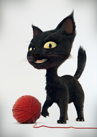 Little cat, free model to download by digitalrebelstudio