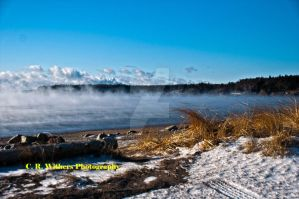 Sea Smoke From the Cold by CRWithers