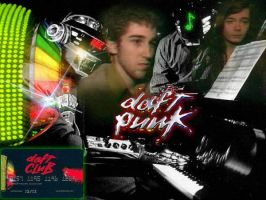 Daft Punk Wallpaper by Tagerlon