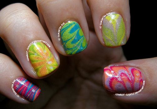 Easter Water Marble... by Cowboy-Slightly