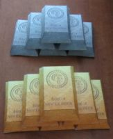 Gold and Platinum Bars by aim11