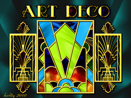 Art Deco Screen by barbieq25