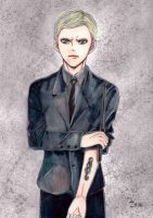 Death Eater Draco by KziraLee