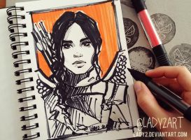 mockingjay. by Lady2