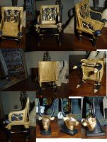 Egyptian Chair by dashinvaine