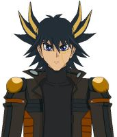 Yusei's new look by Taraye