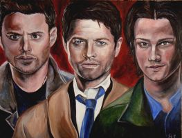 Team Free Will by artistkitty88