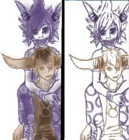 GaMzEe and tAVROS -iscribble- by RetroTrickster