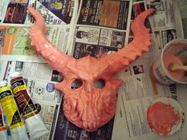 mask WIP 4 PINK by goosezilla