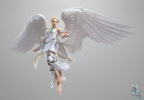 Angel In tekken tag tournament 2 by LIN-JIN17