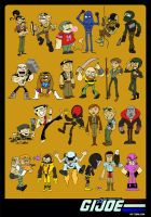 Gi Joe Poster by littlereddog